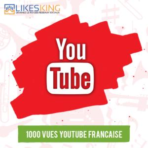 1000 Vues Youtube Française