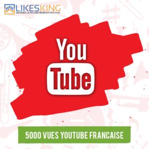 5000 Vues Youtube Française
